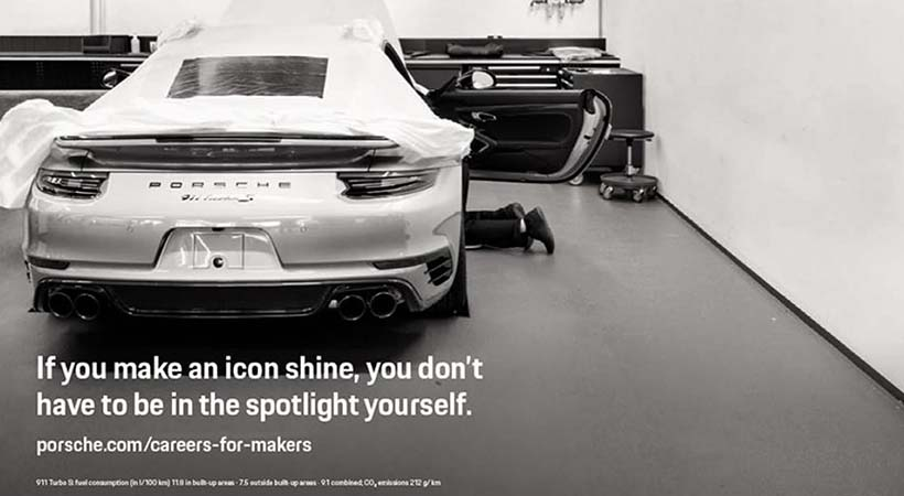 """""""Quiero trabajar en Porsche"""""""