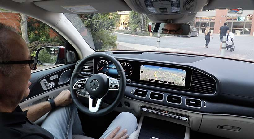 Video Mercedes-Benz GLE 2020 con sistema multimedia MBUX