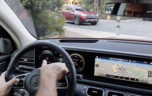 Video Mercedes-Benz GLE 2020 con sistema multimedia MBUX