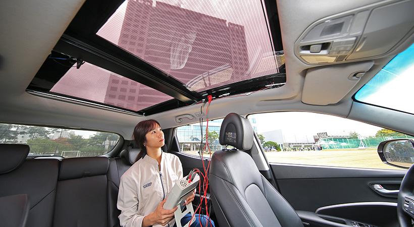 Panel Solar Hyundai debutará en los modelos 2019