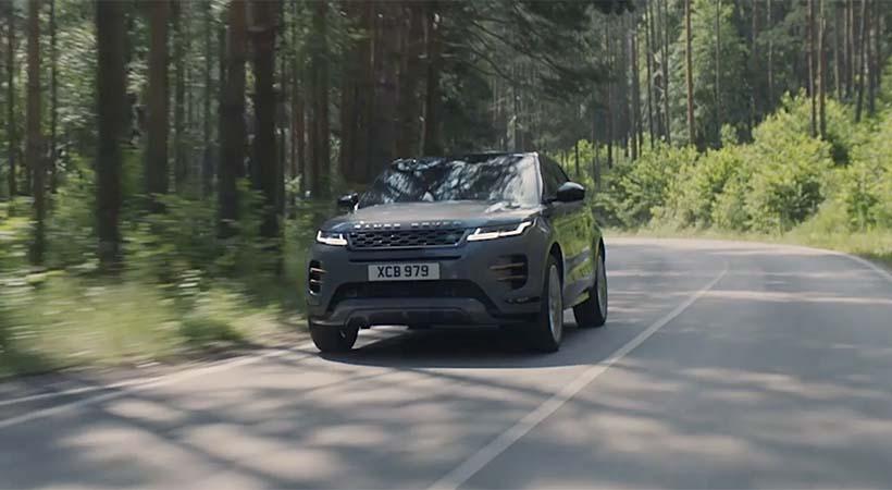 Video debut Range Rover Evoque