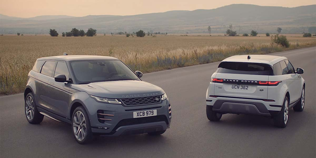 video debut Range Rover Evoque 2020
