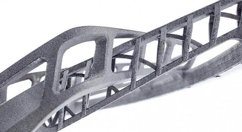 Primeros rines de titanio impresos en 3D, impresionantes y ligeros