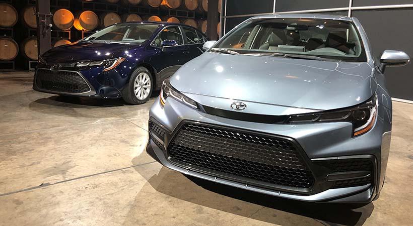 Debut Toyota Corolla 2020