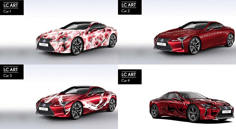 Art Car Lexus-LC 500h 2019
