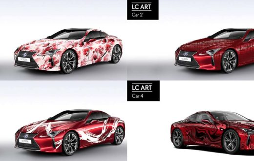 Art Car Lexus-LC 500h 2019