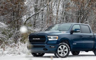 Los mejores pickups para manejar en invierno