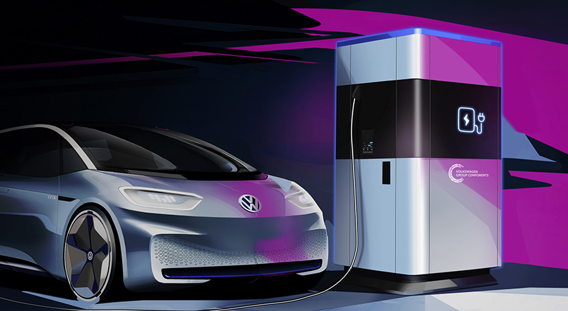 Mobile Charging Station Volkswagen