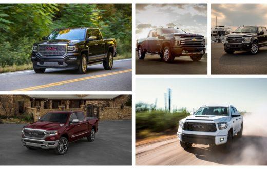 Top 5 mejores pickups 2018 por Autoproyecto