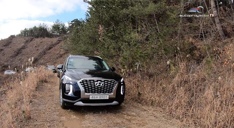 Video Hyundai Palisade 2020, on road y off road en Corea del Sur