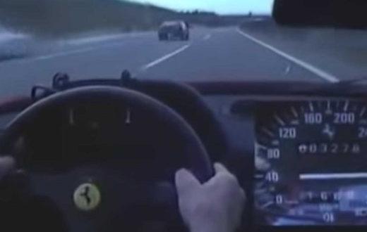 Ferrari F40 alcanzó 200 mph