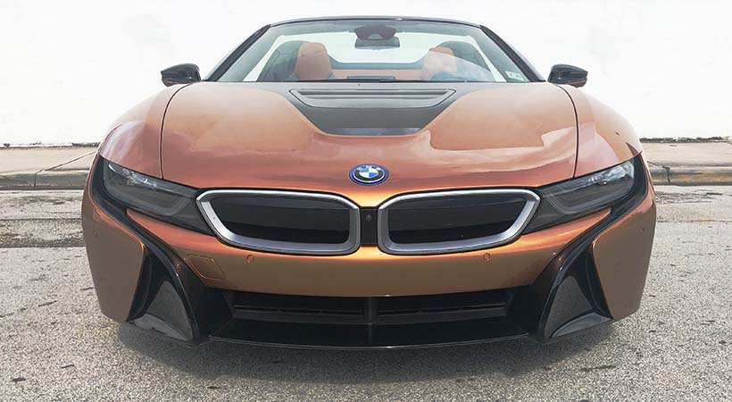 Test Drive BMW i8 Roadster 2019