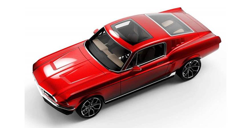 Aviar Motors R67, un impresionante Mustang eléctrico de 840 hp