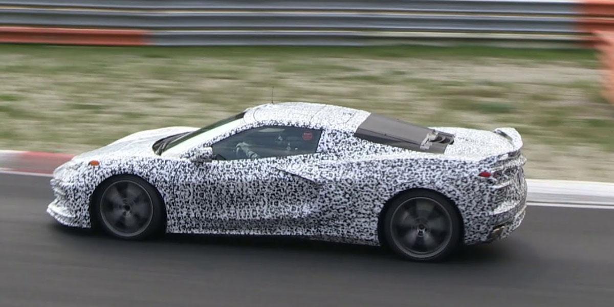 retrasan el Corvette con motor central