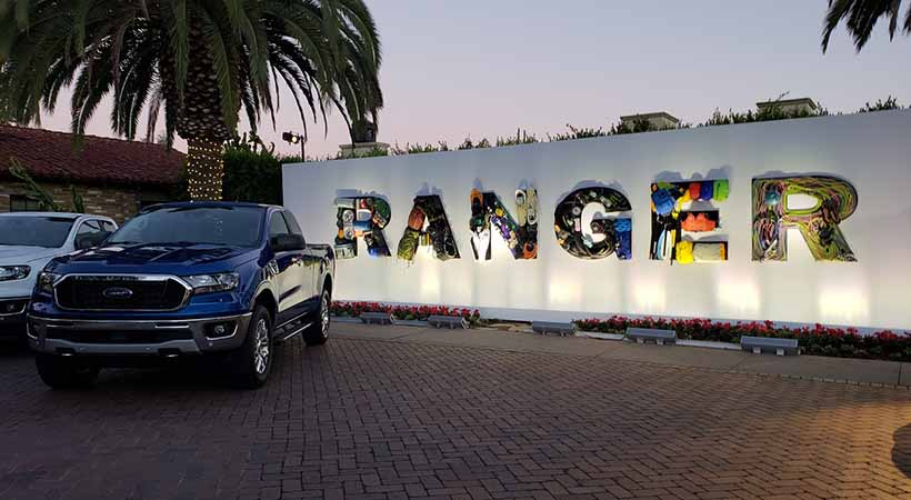 Test Drive Ford Ranger 2019