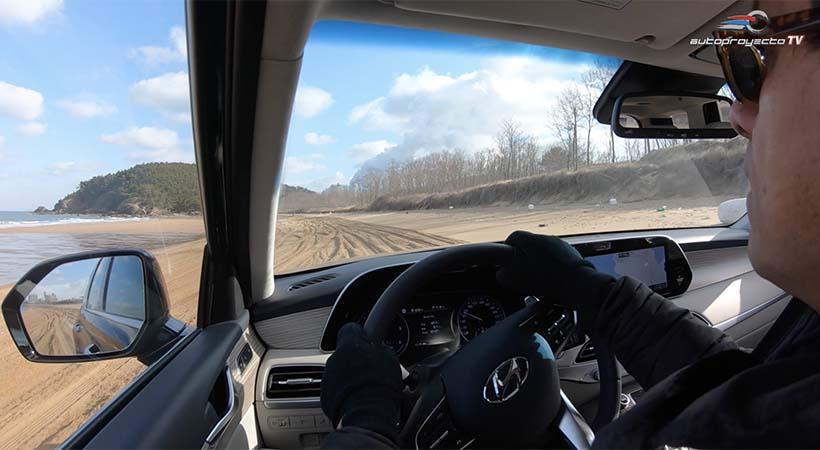 Test Drive Hyundai Palisade diesel 2020 en Sand Mode