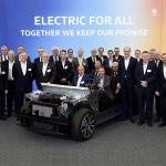 Un paso más cerca del debut eléctrico Volkswagen ID