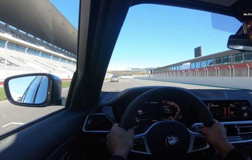 Test Drive BMW 3 Series 2019 detrás de Timo Glock