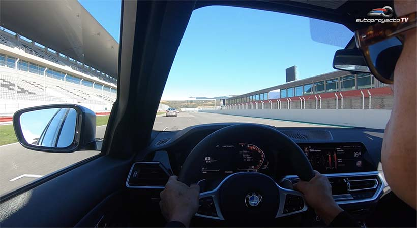Test Drive BMW 3 Series 2019, siguiendo al ex piloto de Fórmula 1 Timo Glock, en la Pista del Autódromo Internacional de Algarve