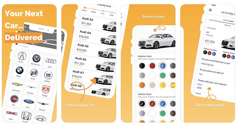 CarBlip, app para comprar o hacer lease de un auto