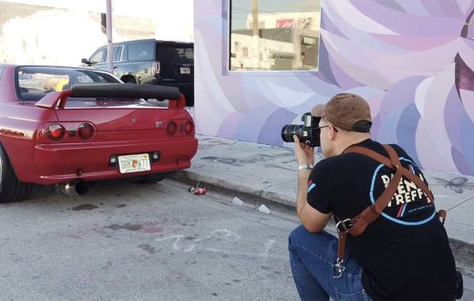 Cars and Coffee en Wynwood Miami