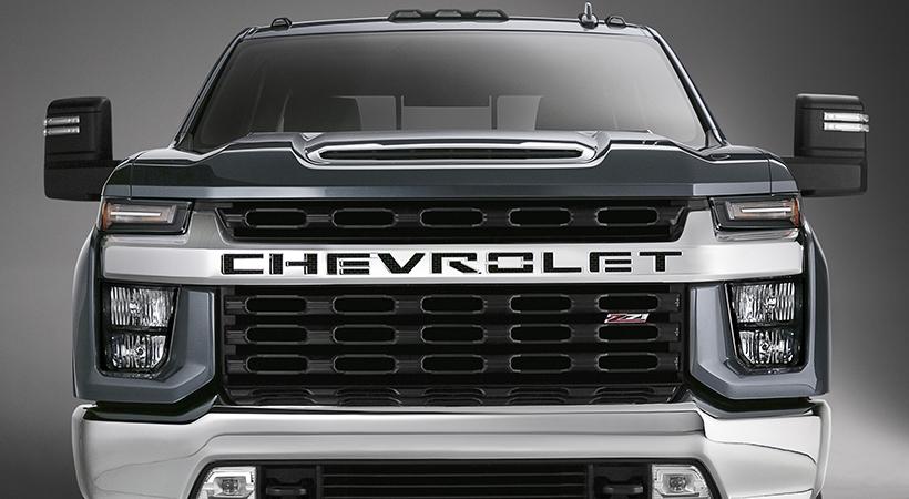 Chevy Silverado Heavy Duty 2020
