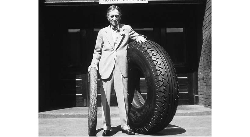 Harvey Firestone, 150 años de la leyenda de los neumáticos