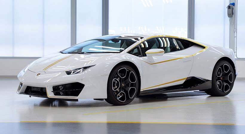 Lamborghini Huracán del Papa Francisco podría ser tuyo