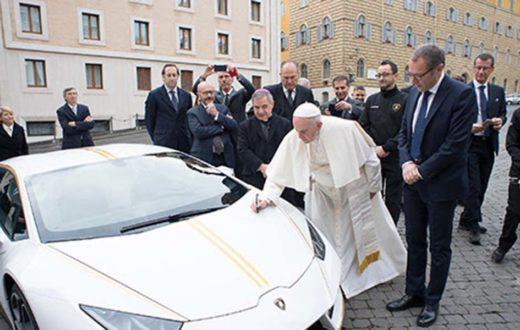 Lamborghini Huracán del Papa Francisco