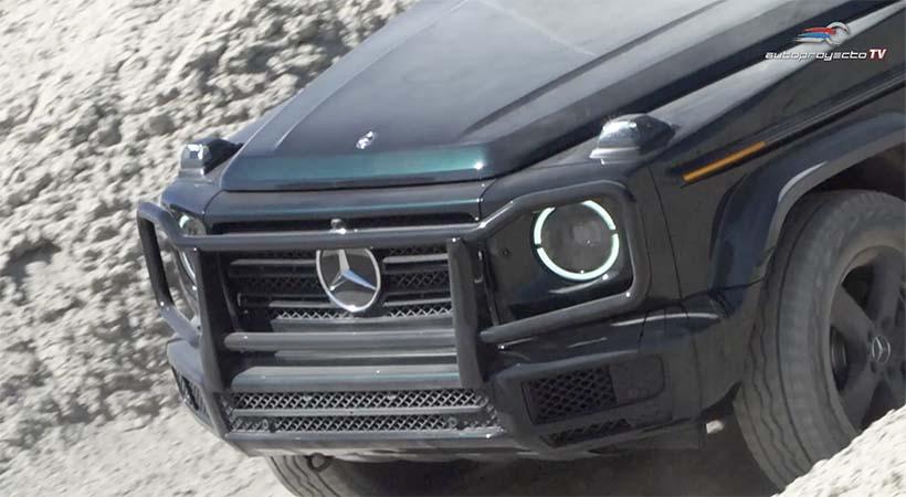 Video Test Drive Mercedes-Benz G Class 2019