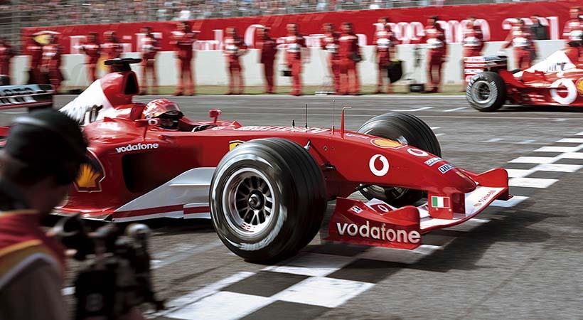 Michael 50 en honor a Schumacher en el Museo Ferrari