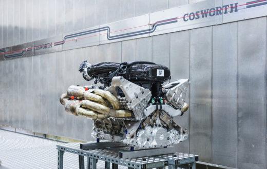 Motor V12 del Aston Martin Valkyrie