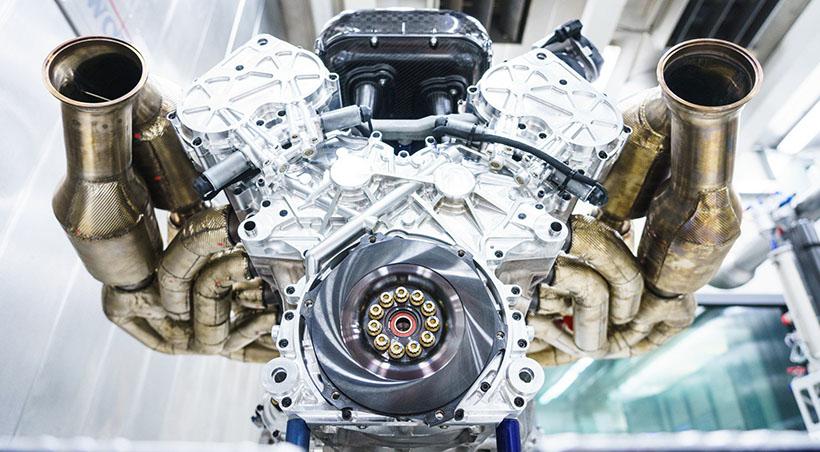 Motor V12 del Aston Martin Valkyrie debuta oficialmente