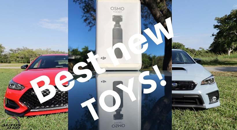 GoPro7 vs DJI Osmo Pocket video cámaras perfectas para los autos