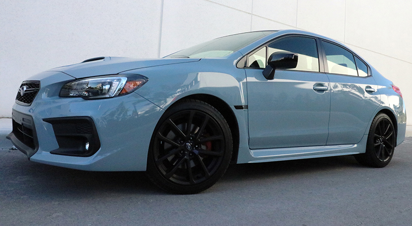 Test Drive Subaru WRX Premium 2019
