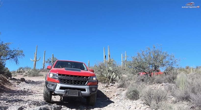 Video Chevrolet Colorado ZR2 Bison 2019 en el Desierto de Arizona