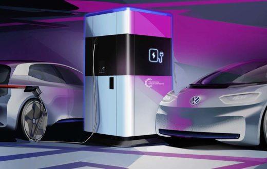 Mobile Charging Station Volkswagen