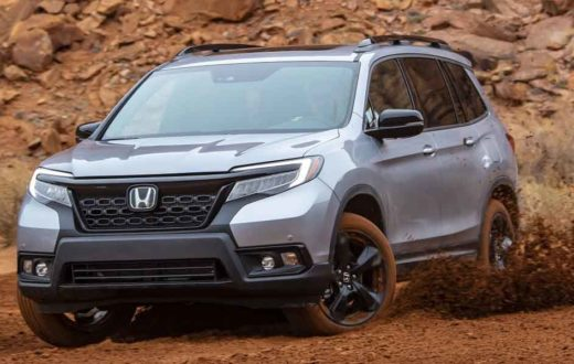 Test Drive Honda Passport 2019