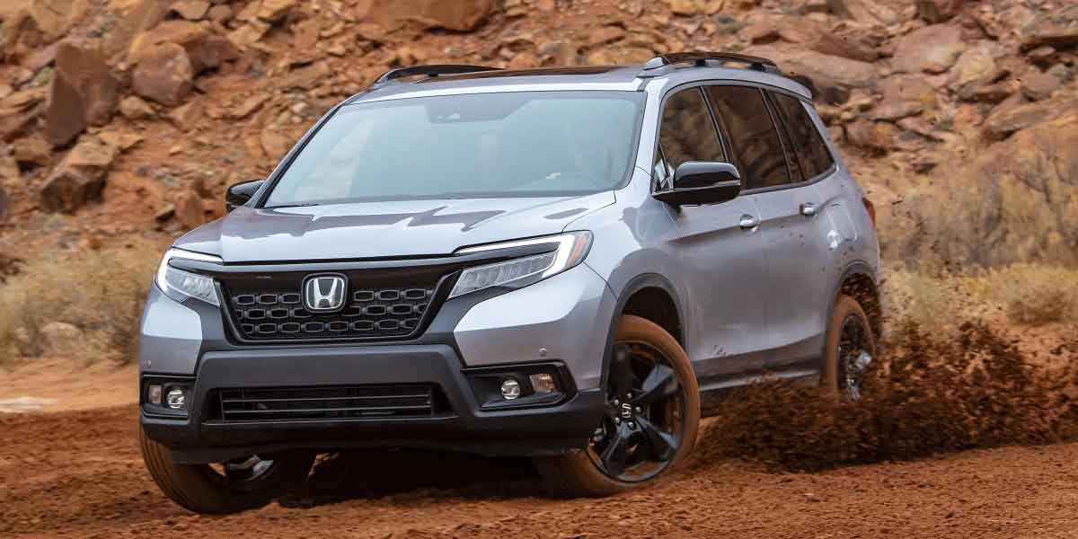 Test Drive Honda Passport 2019
