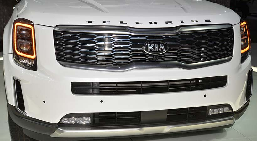 Kia Telluride 2020, debut 4x4 en el Auto Show Detroit