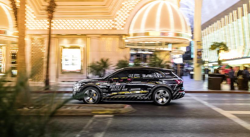 Audi e-tron con realidad virtual