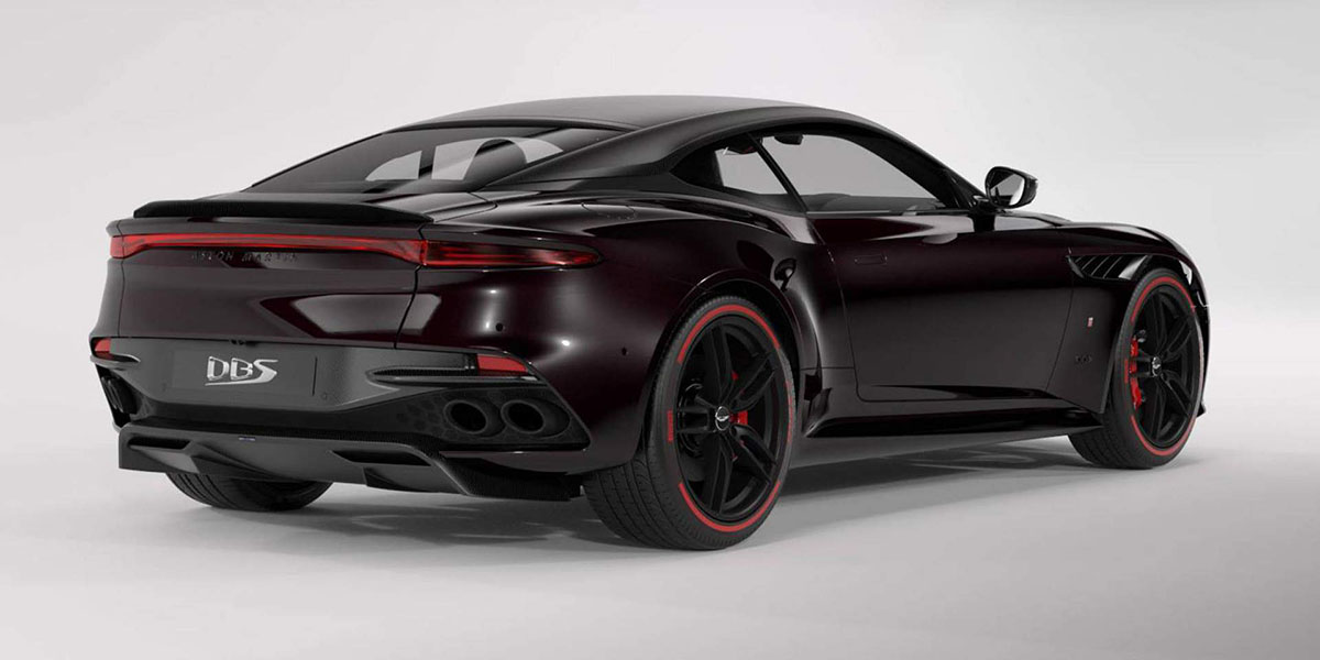 Aston Marin DBS Superleggera Tag Heuer Edition