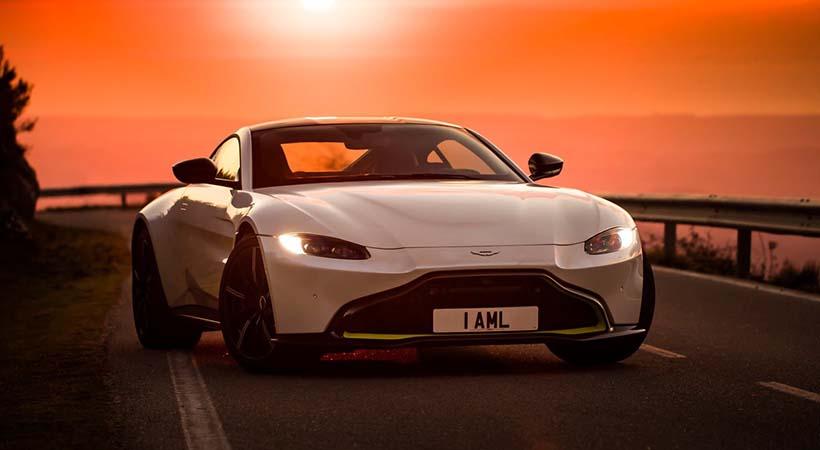 video Aston Martin Vantage 2019