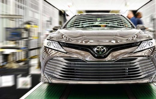 Casi 2 millones Toyotas MADE IN USA en 2018
