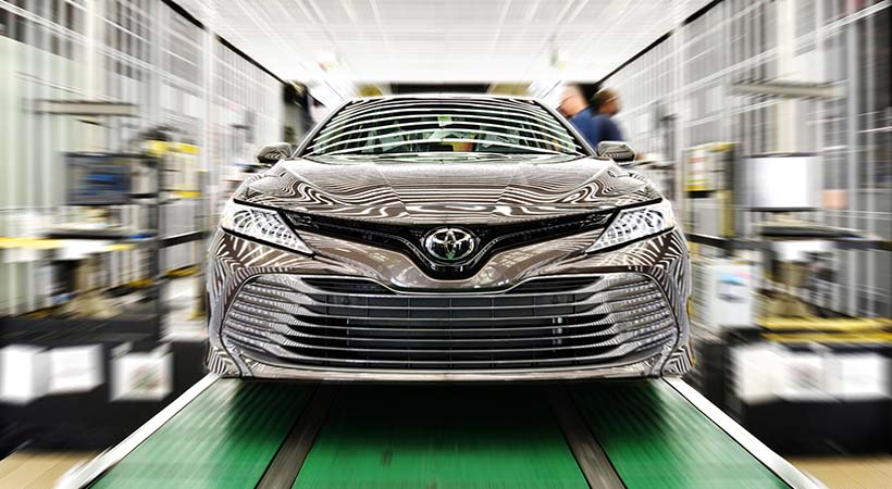 casi 2 millones Toyotas MADE IN USA
