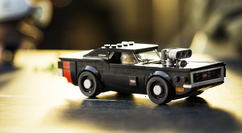 Dodge Challenger y Charger R / T Lego Speed Champions,