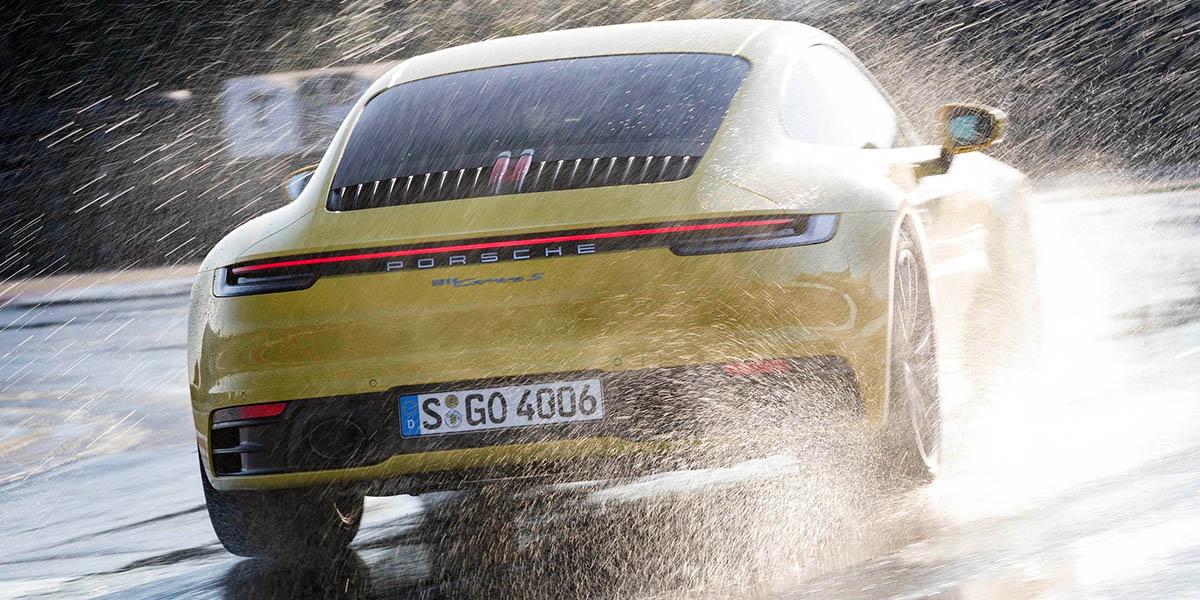 Drive Mode Porsche Wet