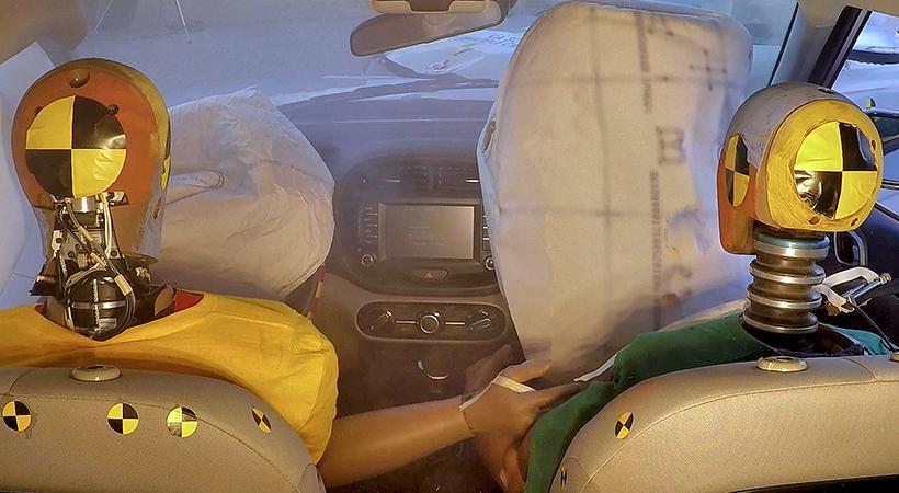 Bolsa de aire Hyundai de colisión múltiple