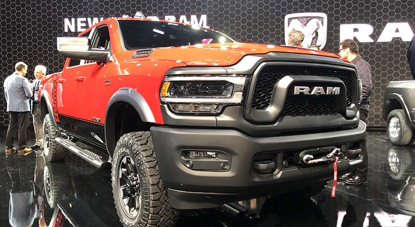 Ram Heavy Duty 2019, poderoso debut en el Auto Show Detroit
