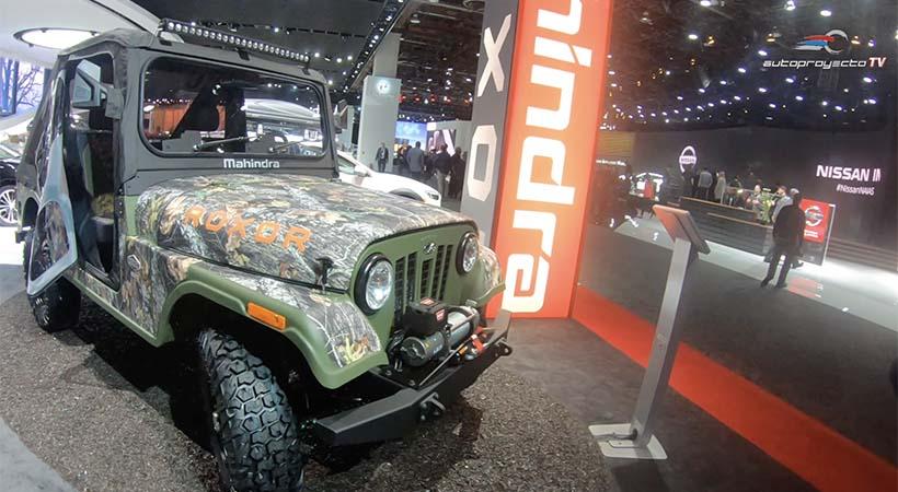 Mahindra Roxor 2019 en el Auto Show Detroit ¿Copia barata del Jeep?